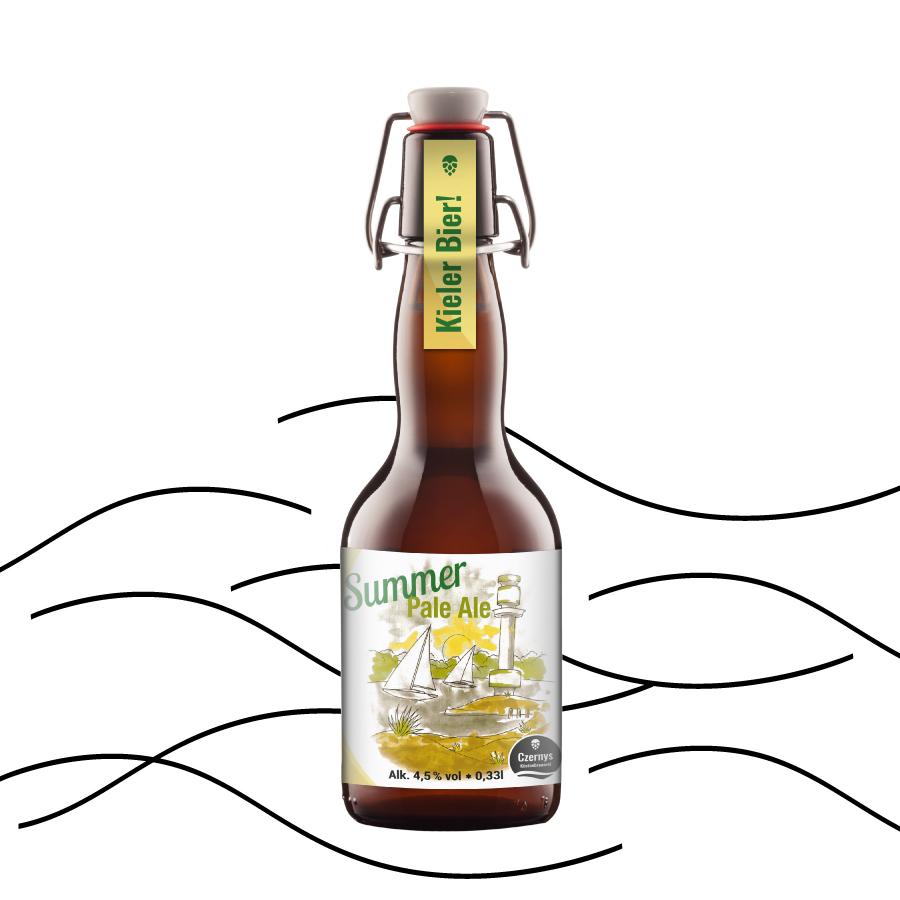 Czernys Summer Pale Ale Bierflasche